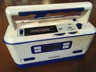 CITIZEN 防災ラジオ