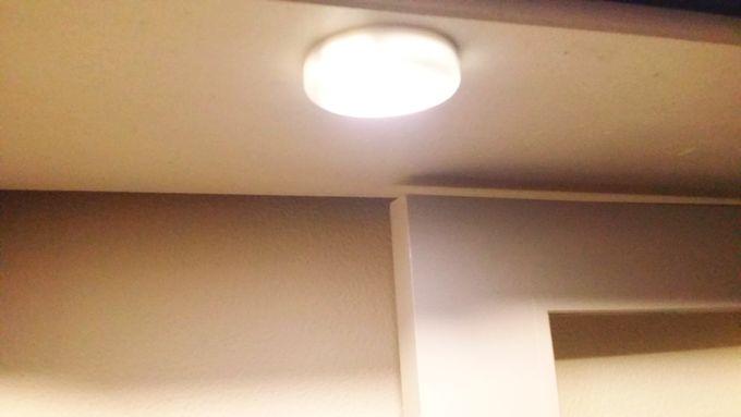 AMIR 人感センサーライト 点灯状態