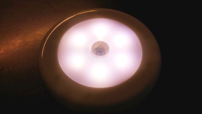 AMIR 人感センサーライト LEDは6個内蔵
