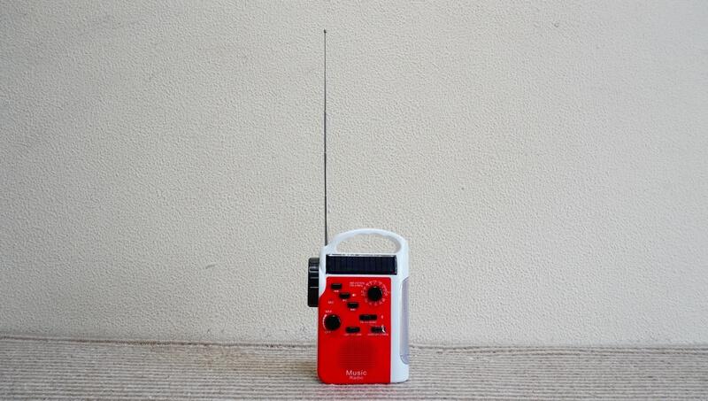 SAFTY PLUSのラジオライトのアンテナ