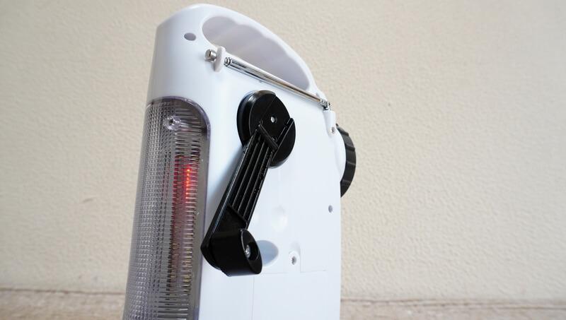 SAFTY PLUSのラジオライトのダイナモ発電
